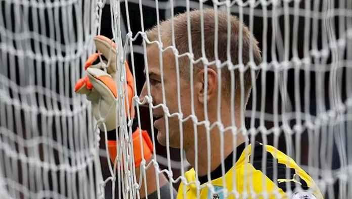 KIper Joe Hart mantan pemain Manchester City