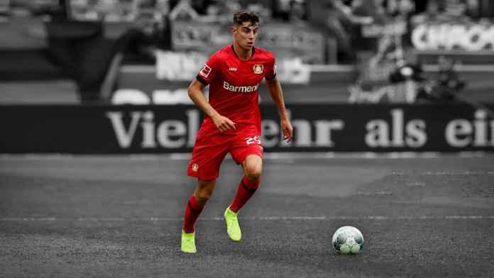 Kai Havertz pemain Bayer Leverkusen yang jadi incaran transfer Liverpool