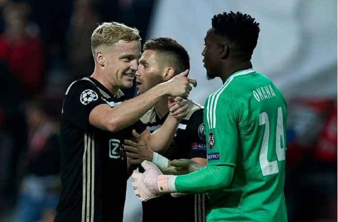 Ajax Siap Lepas Andre Onana dan Van de Beek, Tak akan Murah Tentunya..