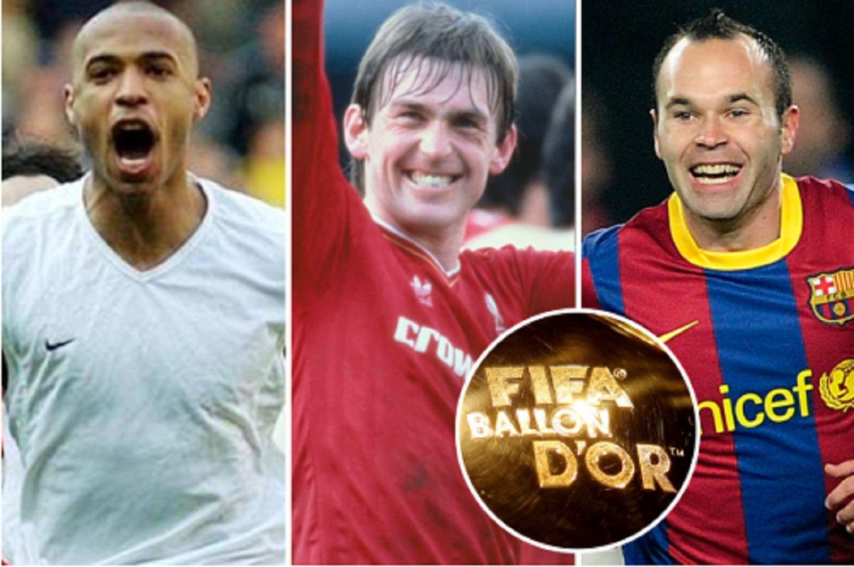 Thierry Henry Maldini Dan Para Pemain Terbaik Yang Tak