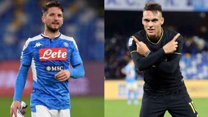 Inter Milan Amankan Dries Mertens Gantikan Lautaro Martinez