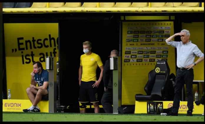 Borussia Dortmund Kalah dan Kehilangan Erling Haaland