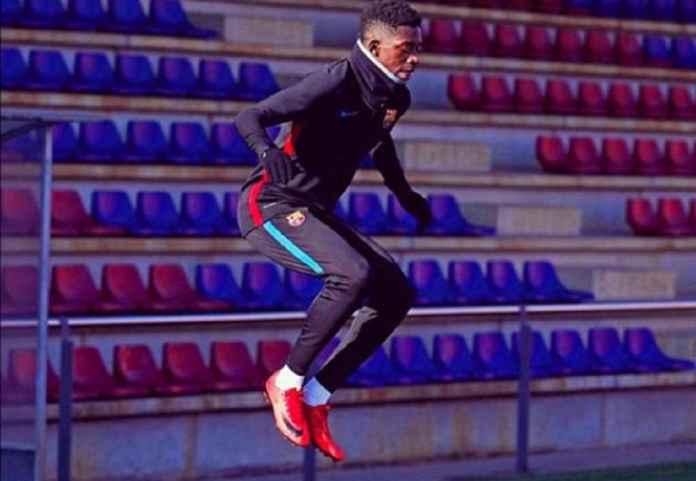 Barcelona Tes Covid-19 Para Pemainnya, Kecuali Ousmane Dembele