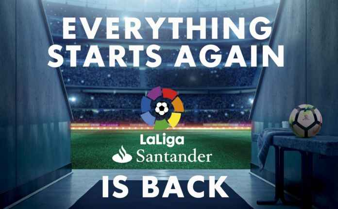 Liga Spanyol kembali dimainkan