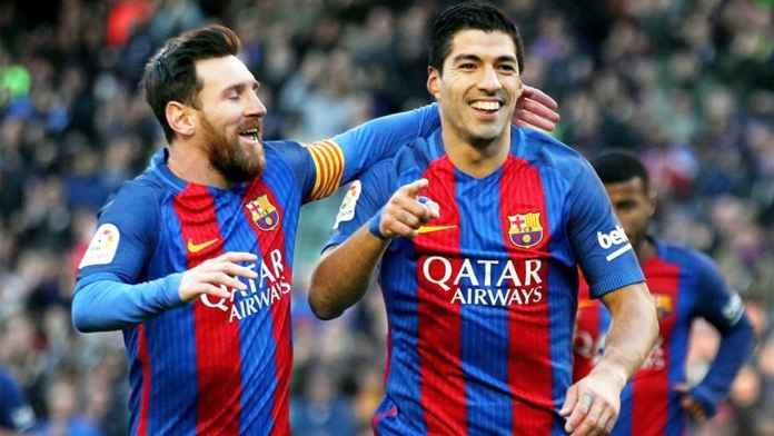Lionel Messi dan Luis Suarez duo bomber Barcelona
