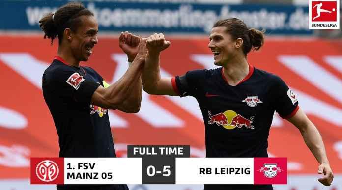 Poulsen dan Sabitzer Pastikan Tak Dimarahi Soal Rambut di RB Leipzig