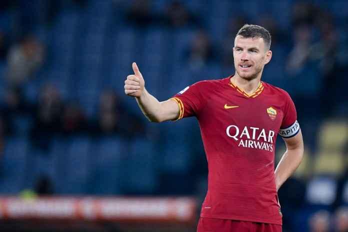 AS Roma Berhasil Atasi Sampdoria, Dzeko Dipuji