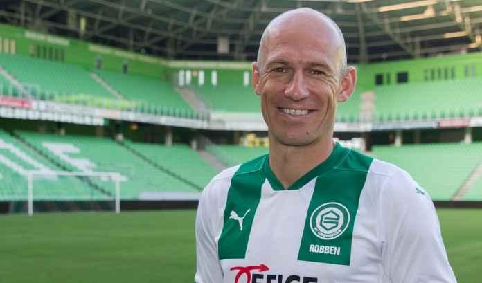 Arjen Robben balik dari pansiun dan gabung FC Groningen
