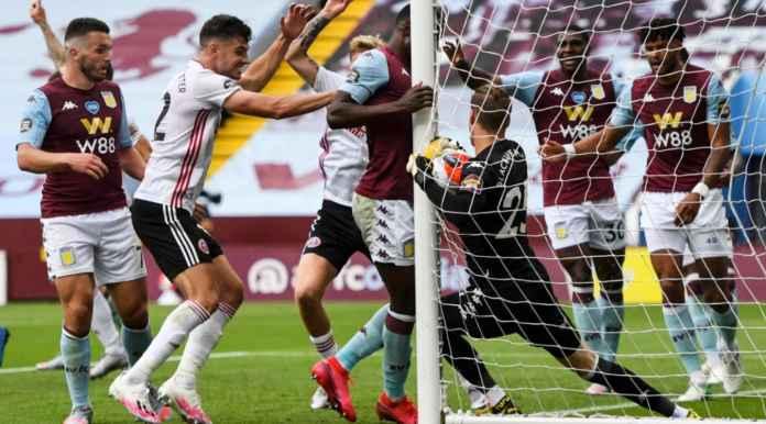 Terjadi Kesalahan Teknologi Pada Laga Aston Villa vs Sheffield United