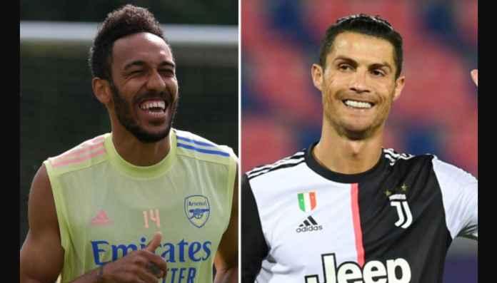 Siap-siap Melihat Duet Aubameyang dan Cristiano Ronaldo di Juventus