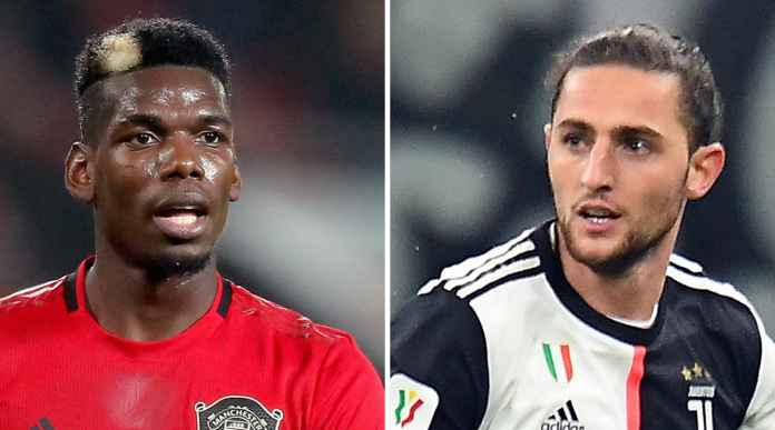 Berita Transfer Juventus Manchester United - Paul Pogba Adrien Rabiot