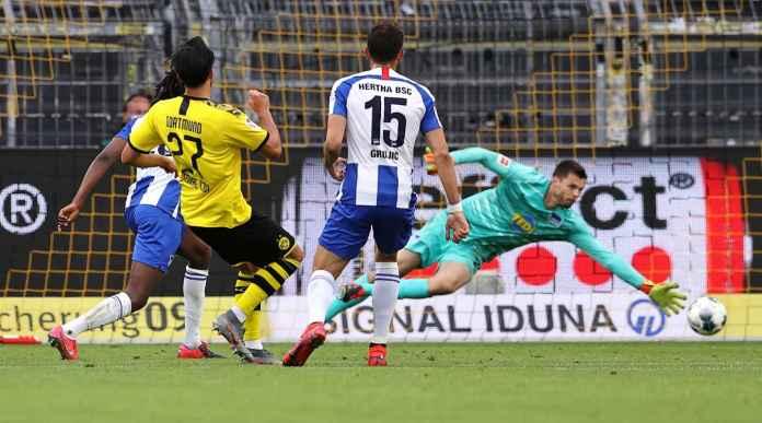 Borussia Dortmund Menang 1-0 Atas Hertha Berlin, Emre Can Cetak Gol