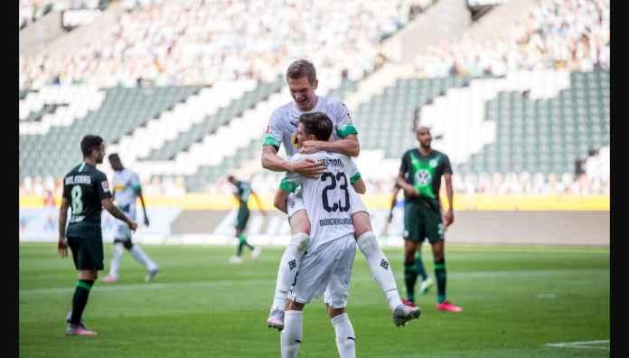 Monchengladbach vs Wolfsburg 2-0, Rebut Jatah Terakhir Liga Champions