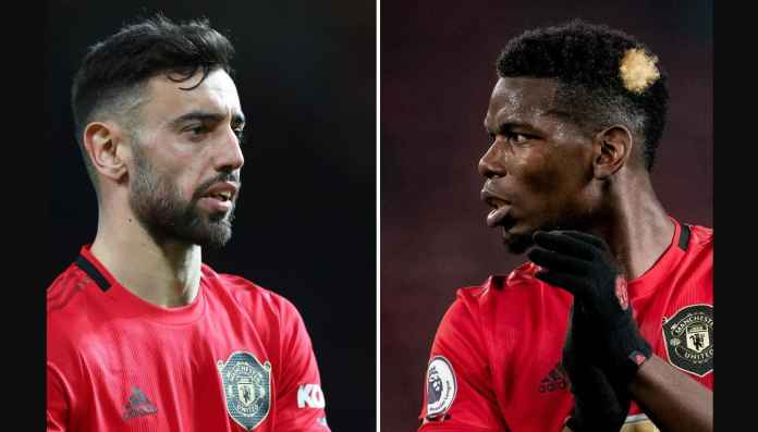 Formasi Baru Bruno-Pogba di Manchester United Terlihat Menakutkan