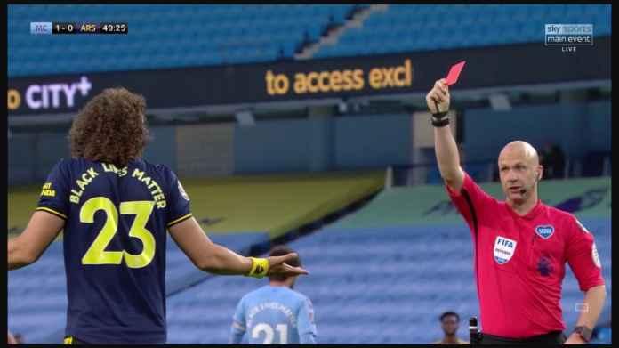 Hasil Manchester City vs Arsenal 3-0, Dua Gol Kesalahan David Luiz