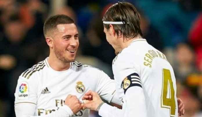 Eden Hazard berikan dampak besar bagi Real Madrid