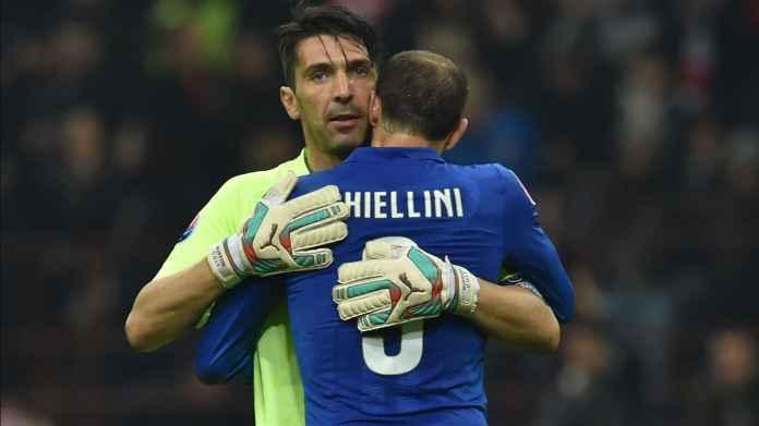 Juventus Resmi Perpanjang Kontrak Buffon dan Chiellini