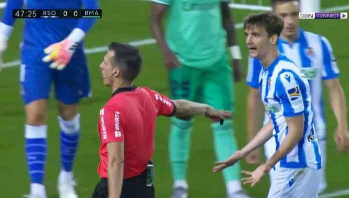 Gol Adnan Jaunzaj dianulir wasit di laga Real Sociedad vs Real Madrid