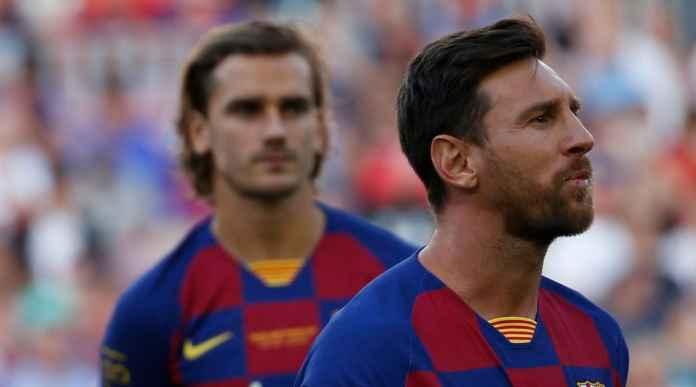 Lionel Messi dan Setien Sepakat Usir Antoine Griezmann dari Barcelona