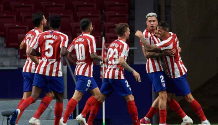 Hasil Liga Spanyol, ATletico Madrid vs Real Valladolid