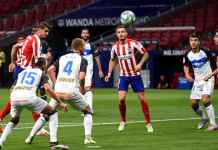 Hasil Liga Spanyol antara Atletico Madrid vs Deportivo Alaves