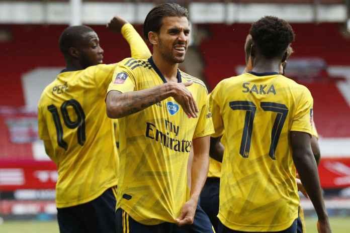 Hasil Sheffield United vs Arsenal, Ceballos Antarkan Meriam London ke Semi Final