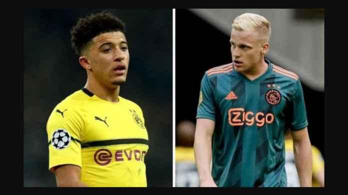 Peluang Juara Manchester United Naik Jika Dapat Sancho, van de Beek!