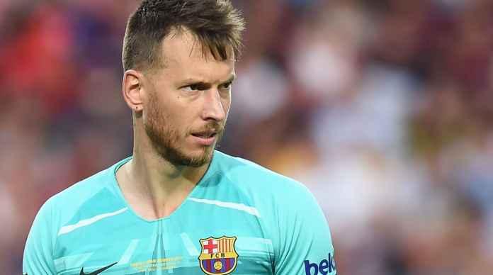 Kiper cadangan Barcelona Neto jadi incaran Arsenal untuk gantikan Bernd Leno
