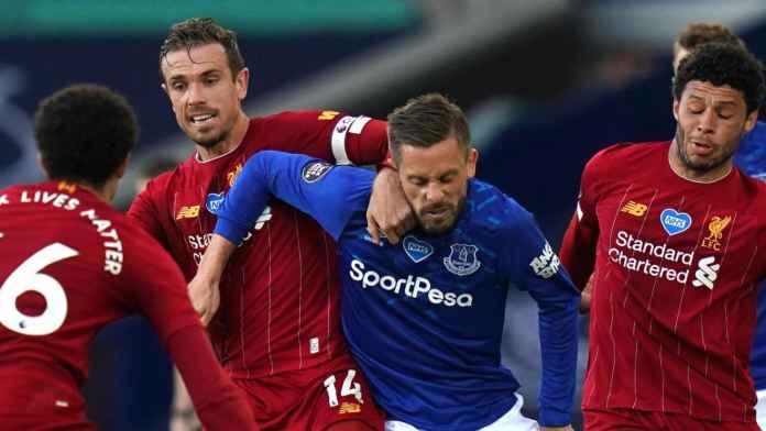 Laga Everton vs Liverpool pecahkan rekor penonton TV