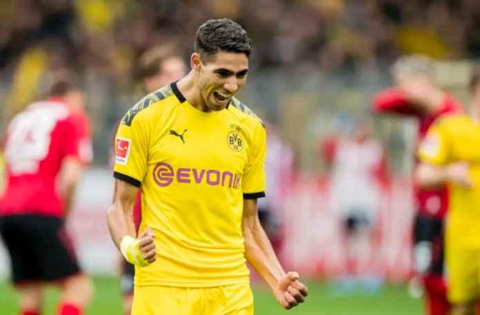 Bayern Munchen Serius Rebut Achraf Hakimi dari Dortmund