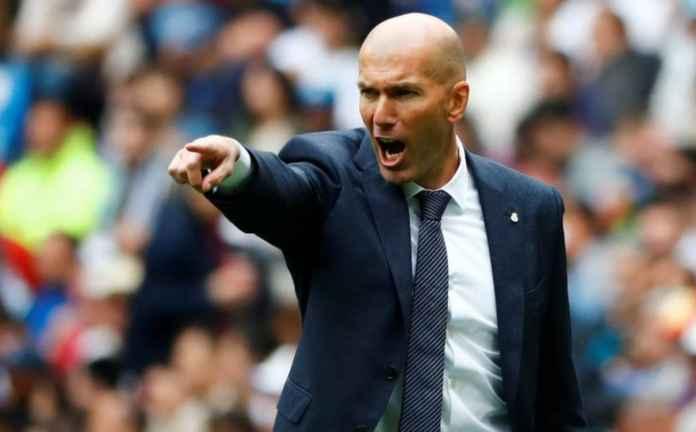 Manajer Real Madrid Zinedine Zidane