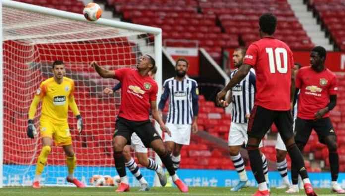 Manchester United vs West Brom dalam laga uji coba