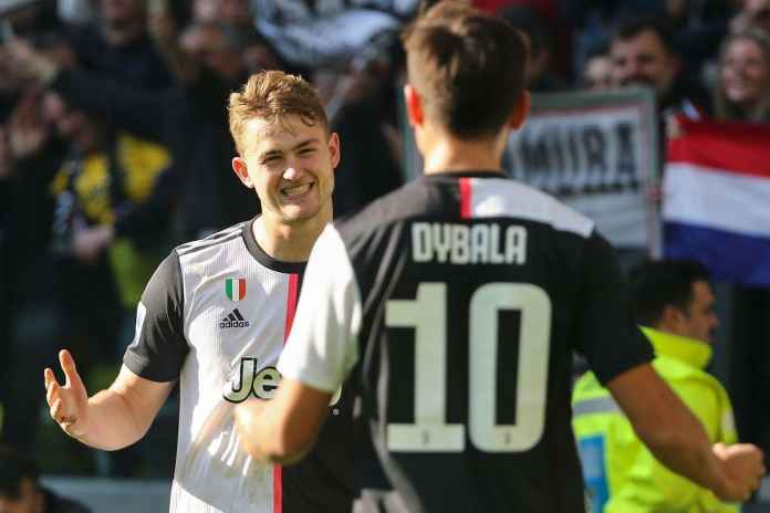 Matthijs de Ligt Ogah Tinggalkan Juventus