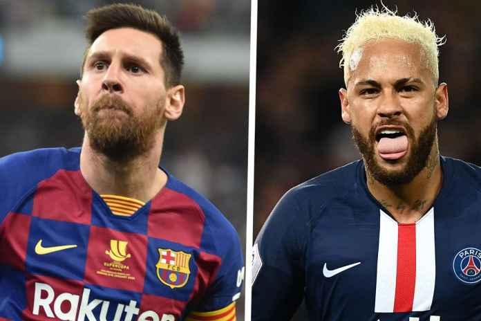 Neymar Bisa Gantikan Lionel Messi di Barcelona