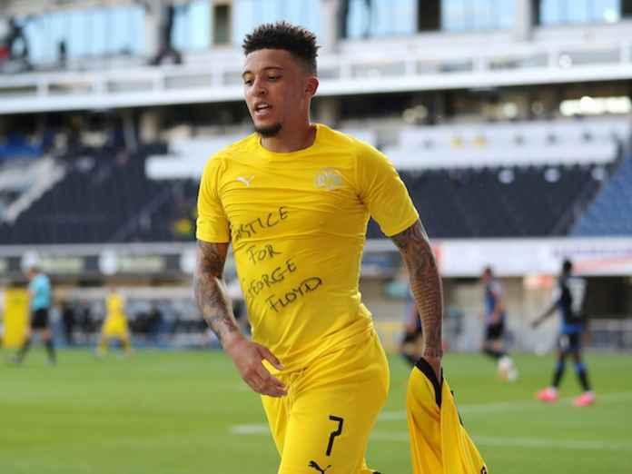 Pelatih Borussia Dortmund Responi Selebrasi Jadon Sancho