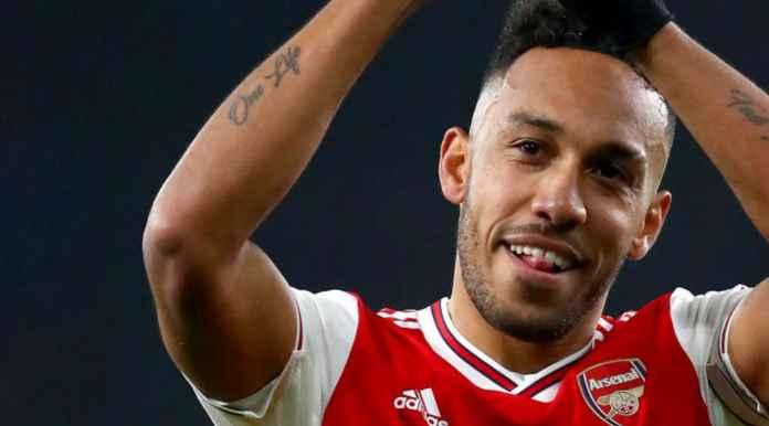 Pemain Bola Arsenal Pierre-Emerick Aubameyang