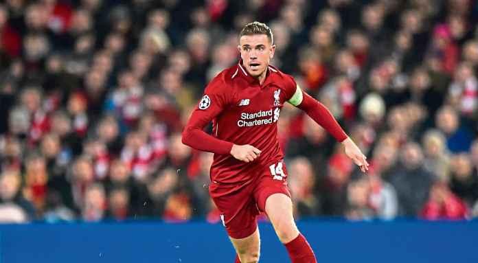 Pemain Liverpool Jordan Henderson salah satu gelandang terbaik Liga Inggris