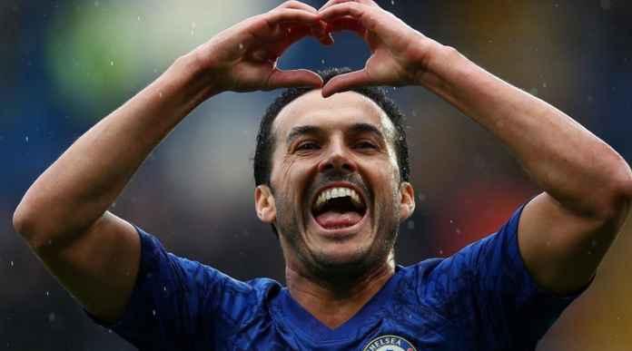 Pemain sayap Chelsea Pedro Rodriguez diberitakan akan bergabung dengan AS Roma