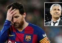Performa Lionel Messi menurun di bawah asuhan Quique Setien