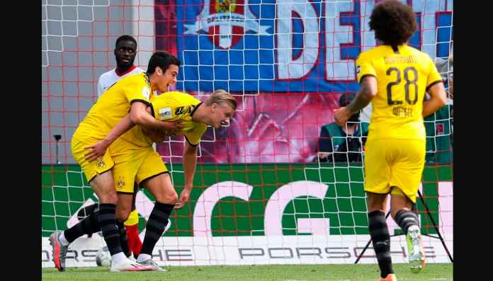 Hasil RB Leipzig vs Borussia Dortmund 0-2, Dua Gol Oleh Erling Haaland
