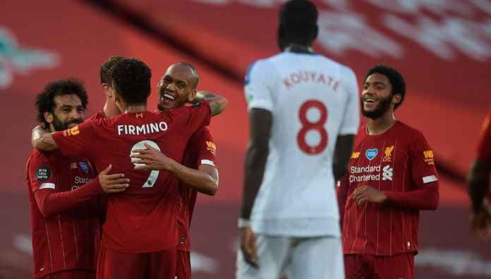 Rapor pemain Liverpool kontra Crystal Palace