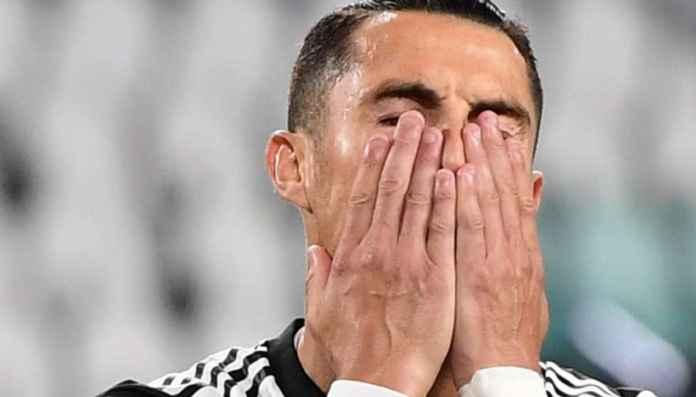 Ronaldo usai gagal penalti di laga Juventus vs AC Milan