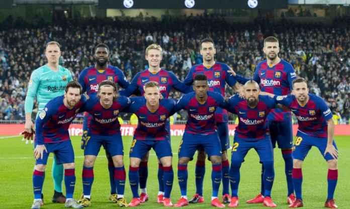 SKuad Barcelona banyak yang sudah berkepala tiga