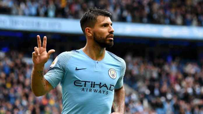 Sergio Aguero, Striker Terbaik Premier League Berdasarkan Rasio Gol
