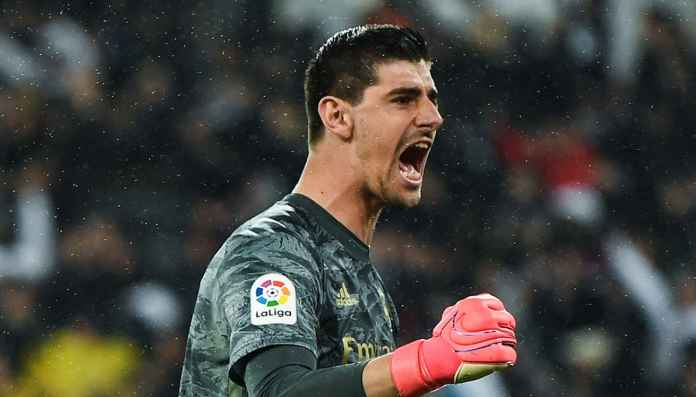 Thibaut Courtois. kiper Real Madrid