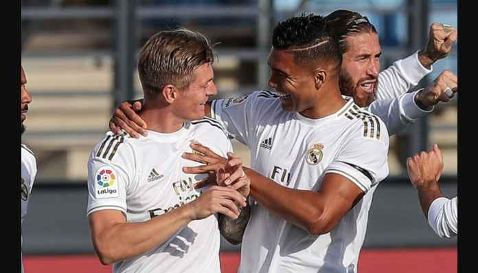 Toni Kroos Gol Menit Ketiga Laga Real Madrid vs Eibar
