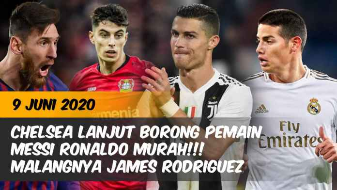 Transfer Chelsea Lionel Messi Cristiano Ronaldo Real Madrid James Rodriguez