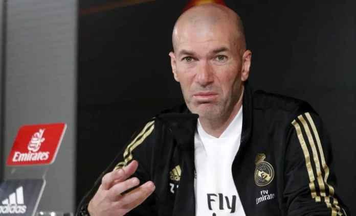 Zinedine Zidane pelatih Real Madrid usai laga melawan Valencia