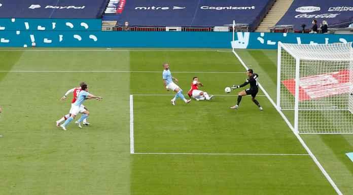 Hasil Semifinal Piala FA: Arsenal Balaskan Dendam Pada Manchester City