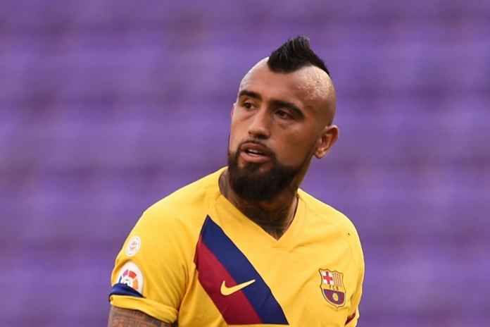 Arturo Vidal Dianggap Jantung Barcelona Saat Ini